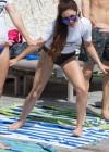 Vanessa Hudgens and Ashley Greene - Wearing bikinis at Oakley Bali in Benoa -04