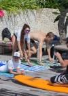 Vanessa Hudgens and Ashley Greene - Wearing bikinis at Oakley Bali in Benoa -07