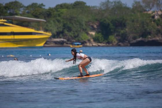 Vanessa Hudgens and Ashley Greene – Wearing bikinis at Oakley Bali in Benoa -09