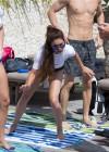 Vanessa Hudgens and Ashley Greene - Wearing bikinis at Oakley Bali in Benoa -12