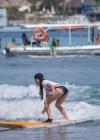 Vanessa Hudgens and Ashley Greene - Wearing bikinis at Oakley Bali in Benoa -15