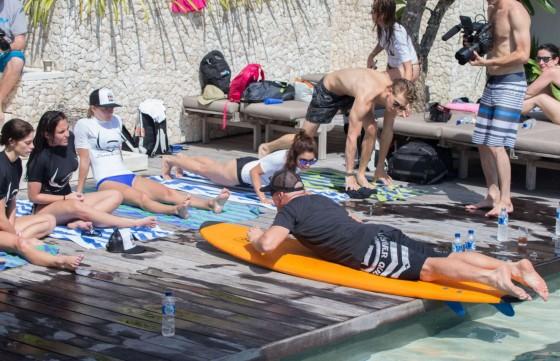 Vanessa Hudgens and Ashley Greene – Wearing bikinis at Oakley Bali in Benoa -25