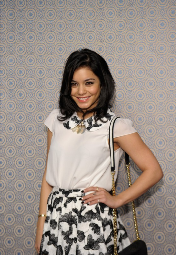 Vanessa Hudgens At Alice Olivia By Stacey Bendet Fall 2013 Fashion Show 07 Gotceleb