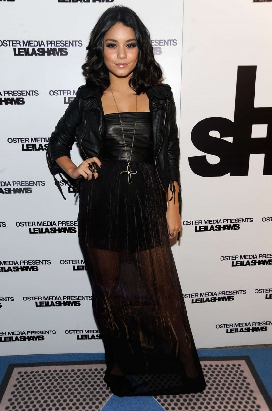 Vanessa Hudgens at Oster Media's Leila Sham's After-Party