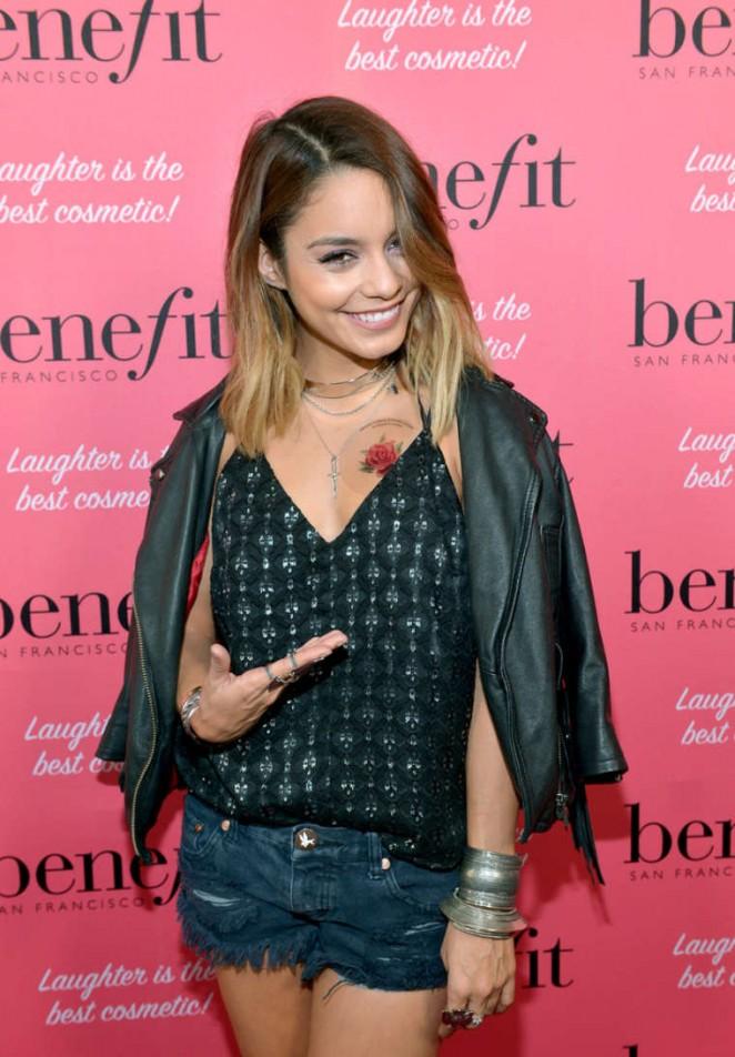 Vanessa Hudgens - Benefit Cosmetics Kick-Off National Wing Women Weekend in LA