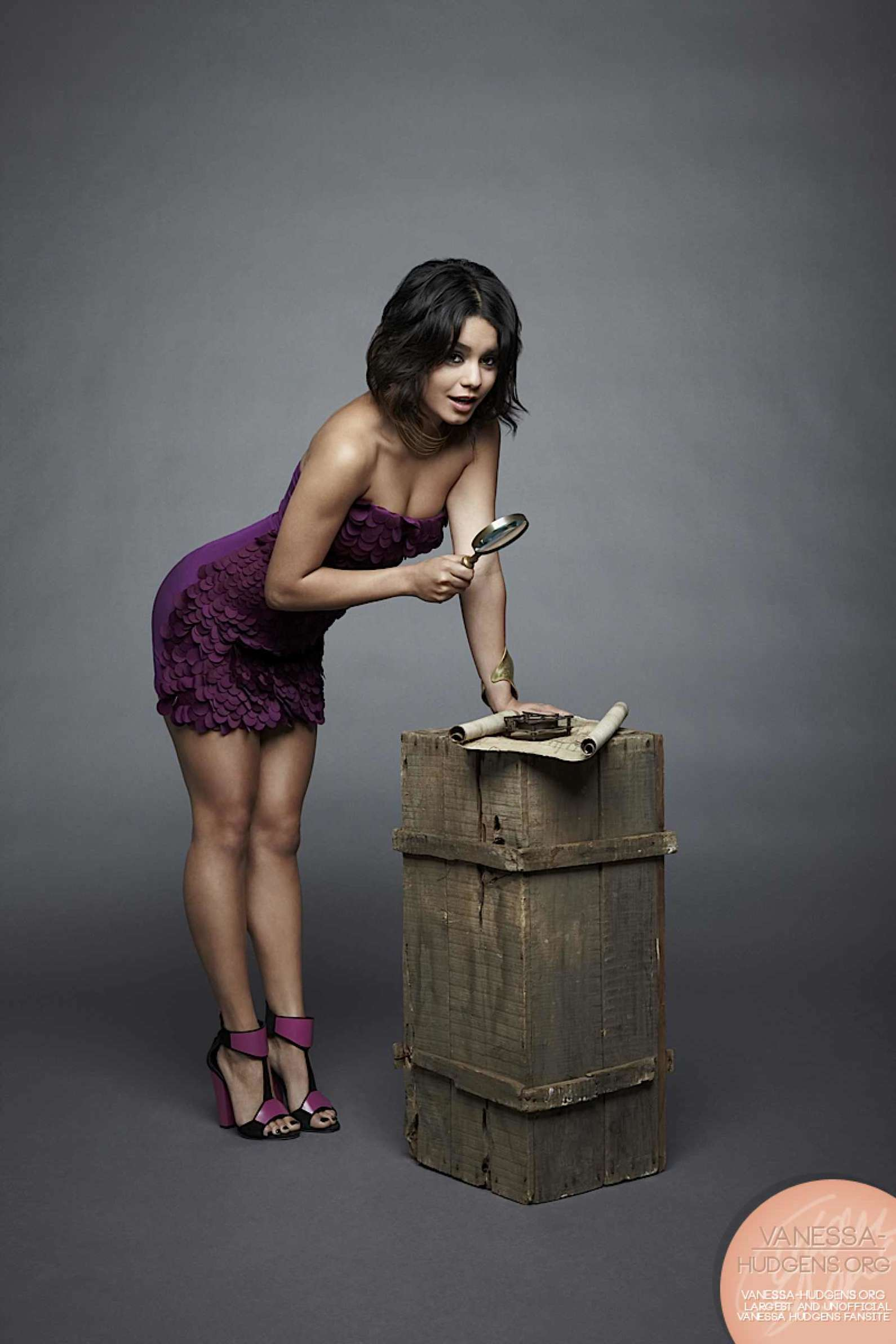 Something Vanessa hudgens nude photoshoot have