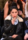Vanessa Hudgens - Dallas Mavericks vs. New York Knicks Game-08