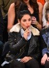 Vanessa Hudgens - Dallas Mavericks vs. New York Knicks Game-09