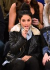 Vanessa Hudgens - Dallas Mavericks vs. New York Knicks Game-11