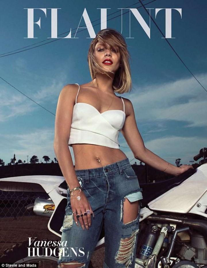 Vanessa Hudgens - Flaunt Magazine Cover 2014