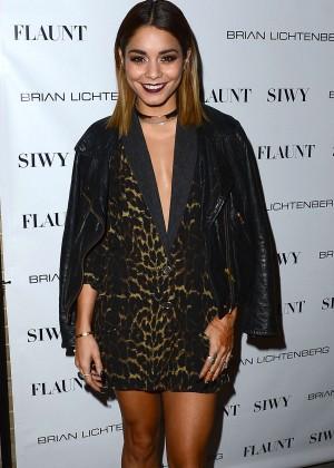 Vanessa Hudgens: Flaunt Magazine Launch Party -01
