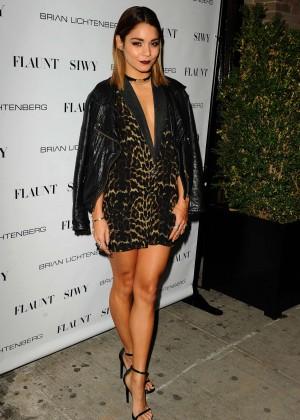 Vanessa Hudgens: Flaunt Magazine Launch Party -21