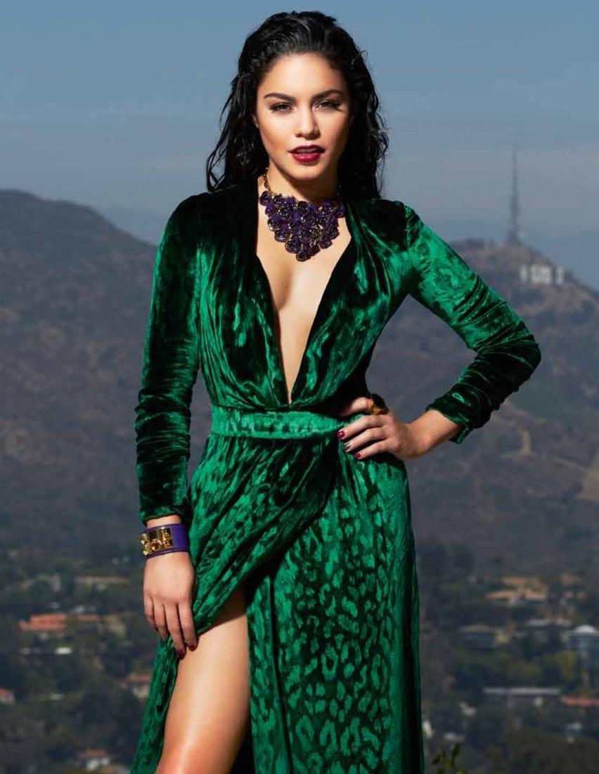 Vanessa Hudgens Harper S Bazaar Magazine Dec 2012