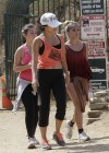 Vanessa Hudgens - Hiking Runyon Canyon in LA