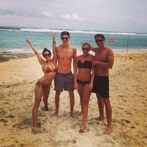 Vanessa Hudgens - In a Bikini in Bali -01