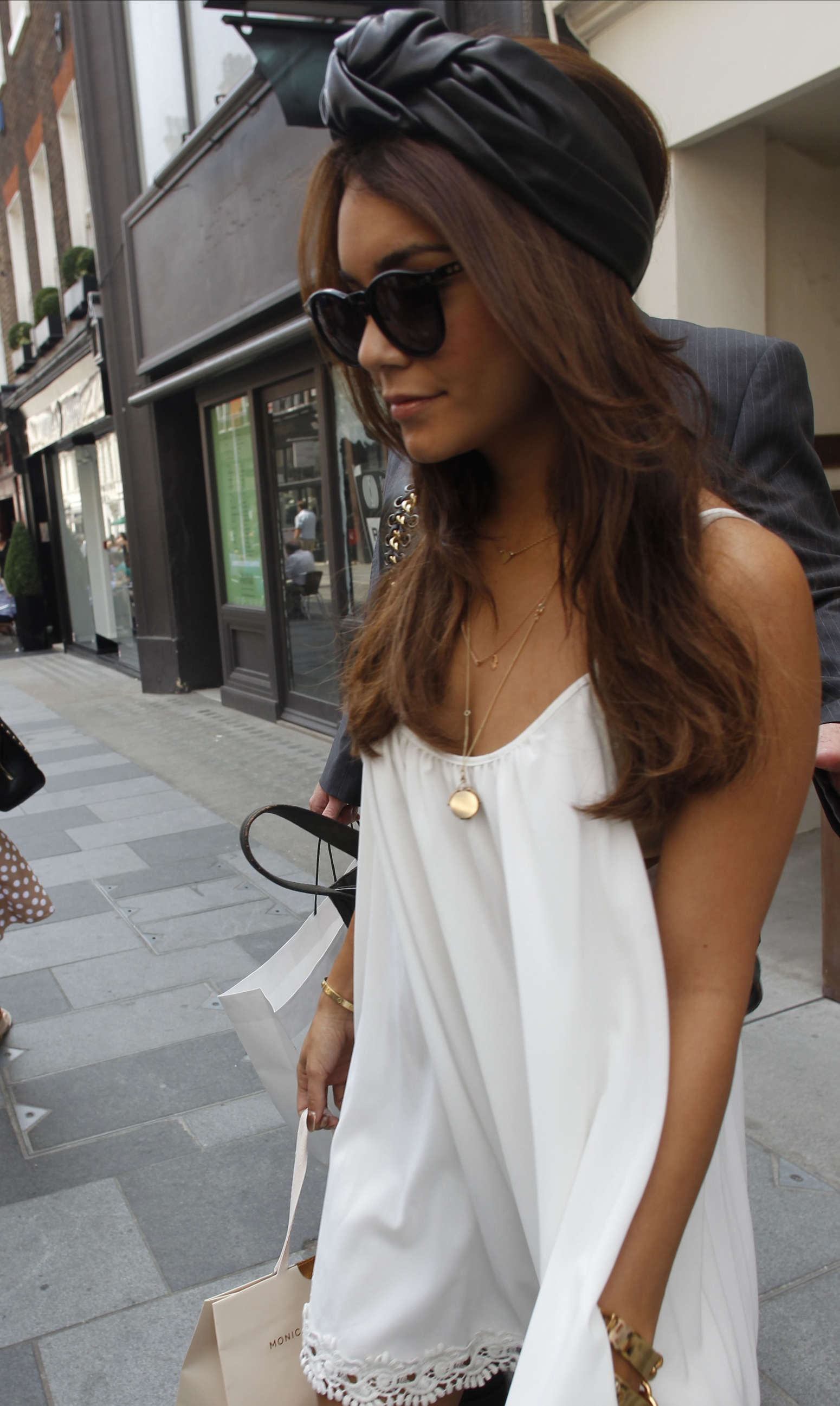Vanessa Hudgens In White Dress 20 Gotceleb