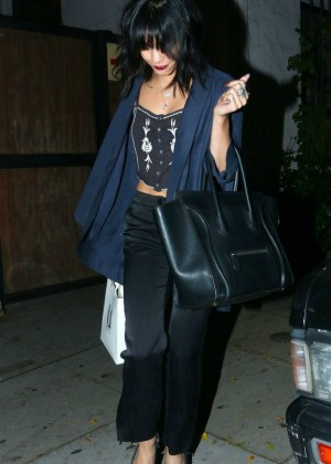 Vanessa Hudgens - Leaving Nine Zero One in West Hollywood