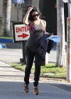 Vanessa Hudgens looking hot in tight jeans in Hollywood