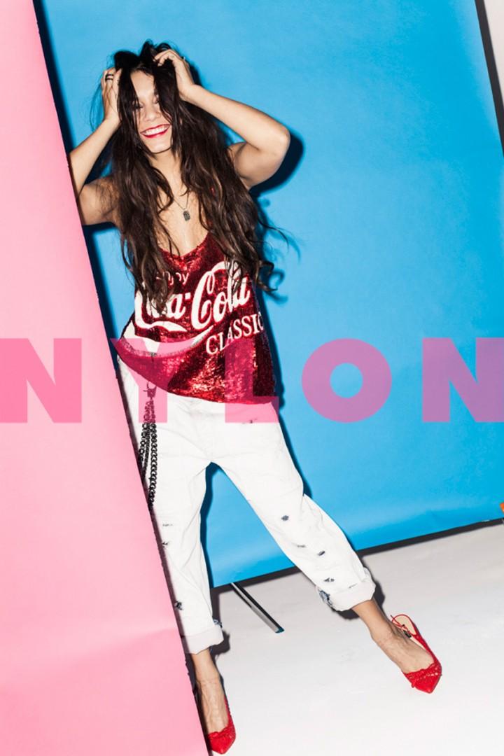 Vanessa Hudgens: Nylon Magazine -02