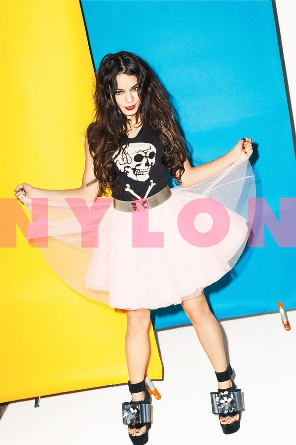 Vanessa Hudgens: Nylon Magazine -04