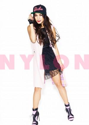 Vanessa Hudgens: Nylon Magazine -06