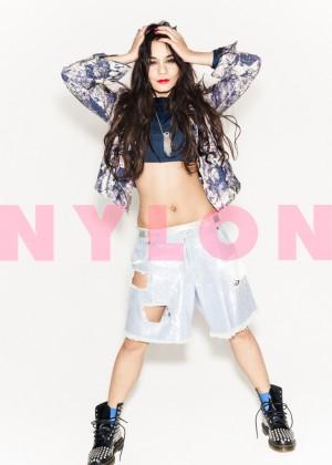 Vanessa Hudgens: Nylon Magazine -08