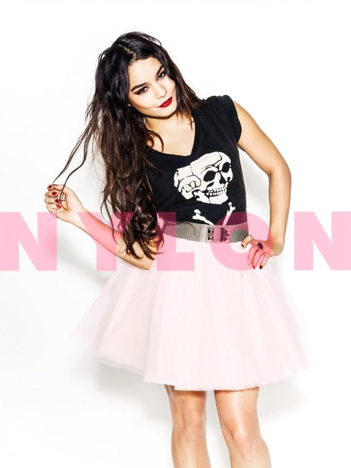 Vanessa Hudgens: Nylon Magazine -09