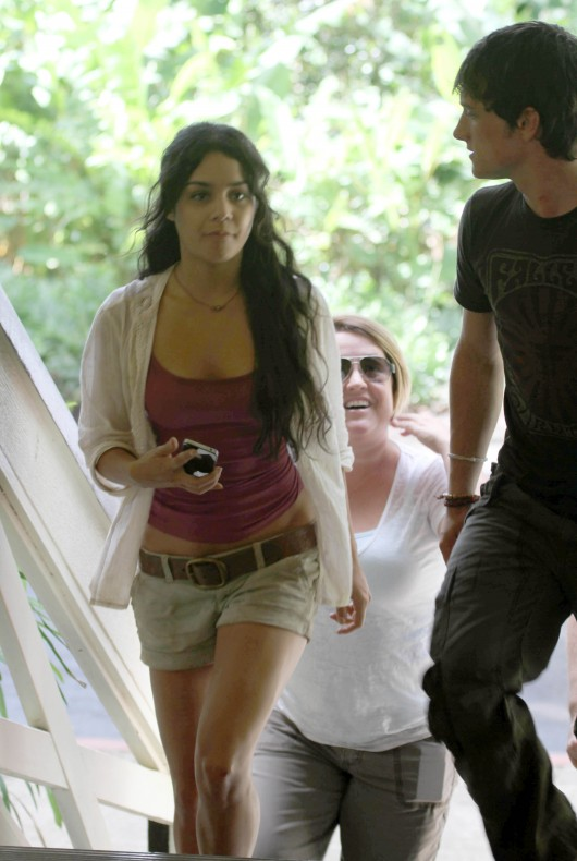 Vanessa Hudgens – On the Journey 2: The Mysterious Island set in Hawaii