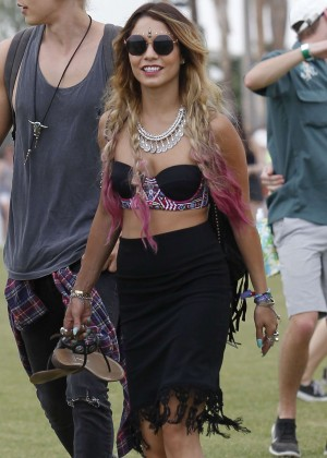 Vanessa Hudgens at Coachella -22
