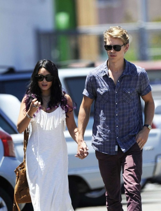 Vanessa Hudgens - out of church service