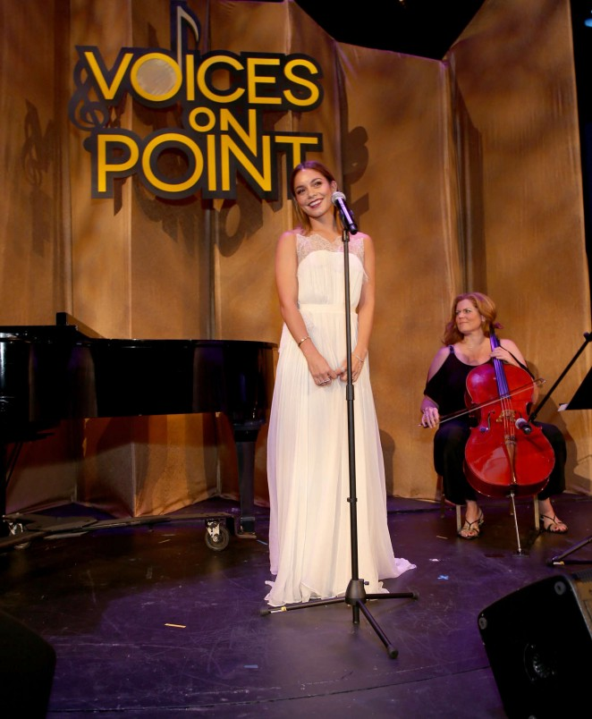 Photos Vanessa Hudgens At The Point Foundations Voices ...