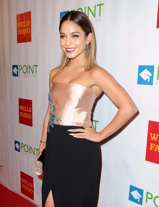 Vanessa Hudgens - Point Foundation's Voices On Point Gala in LA