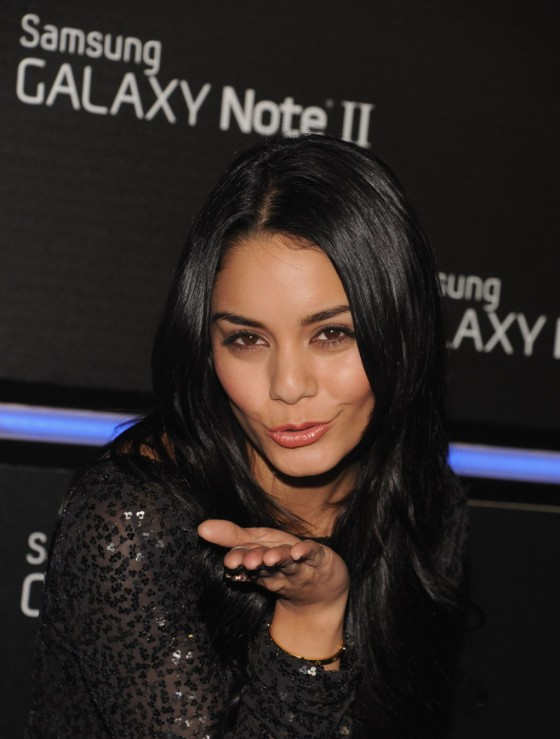 Vanessa Hudgens - Samsung Galaxy Note II Launch in Beverly Hills