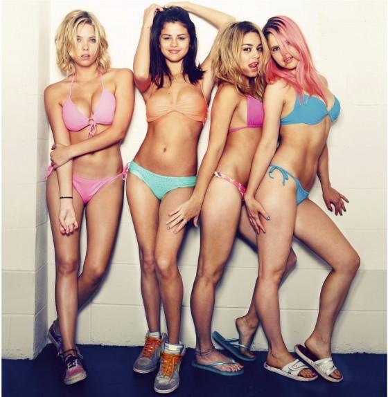 Ashley Benson, Rachel Korine, Selena Gomez and Vanessa Hudgens hot in bikini