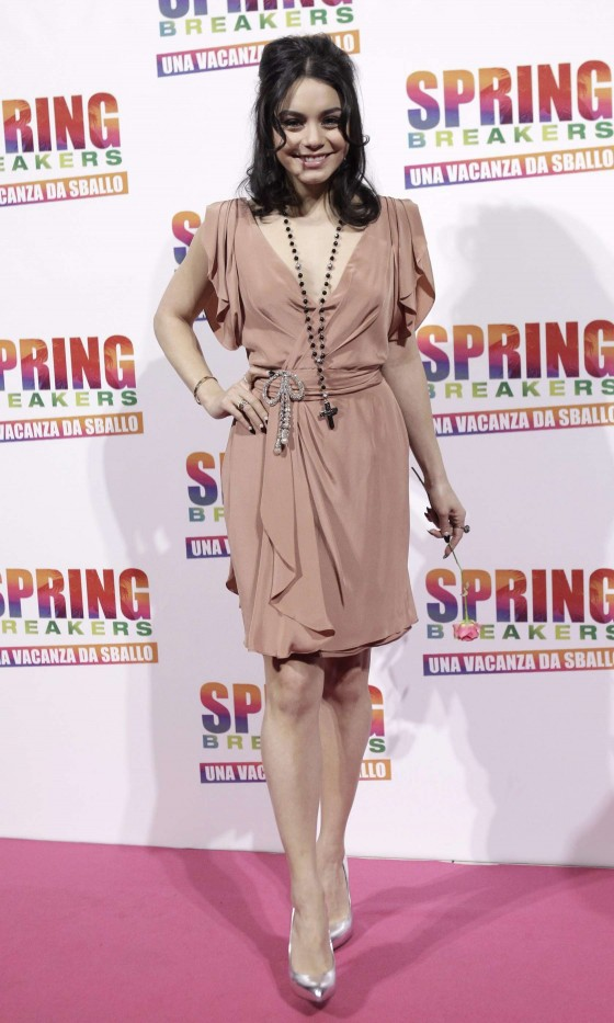 Vanessa Hudgens – Spring Breakers Premiere -01