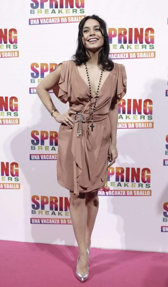 Vanessa Hudgens – Spring Breakers Premiere -04