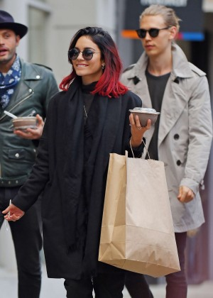 Vanessa Hudgens Shopping in Soho, NY