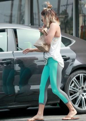 Vanessa Hudgens Walking Around in Studio City -19