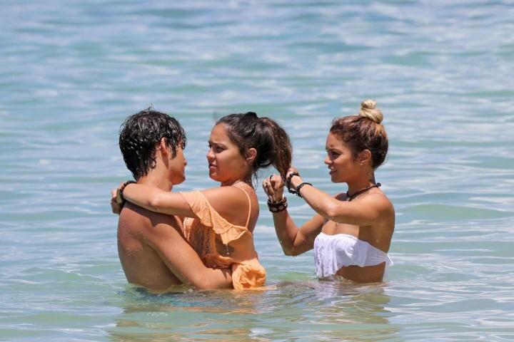 Vanessa Hudgens Bikini Photos: 2014 in Hawaii -12