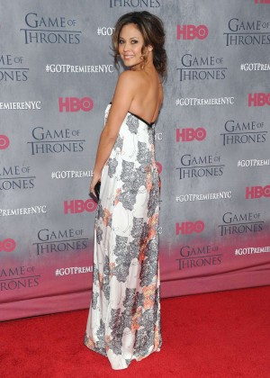 Vanessa Lachey: Game of Thrones NY Premiere -01