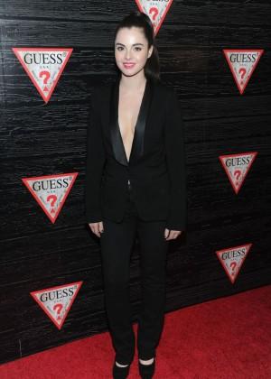 Vanessa Marano: 2014 Fashion Show in NYC - GUESS -02