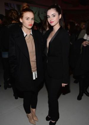Vanessa Marano: 2014 Fashion Show in NYC - GUESS -06