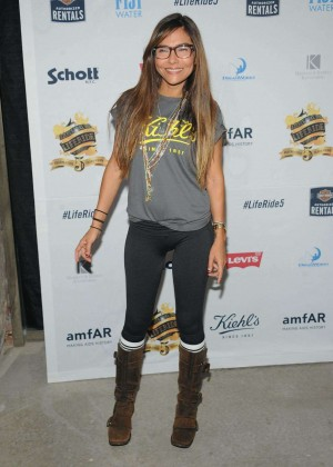 Vanessa Marcil - Kiehl's LifeRide Finale Event in New York