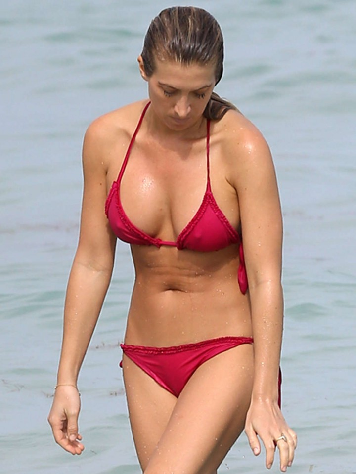 vanessa rivers bikini photos  2014 in miami