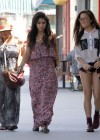 Vanessa and Stella Hudgens - Leggy Candids in Studio City-01