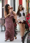 Vanessa and Stella Hudgens - Leggy Candids in Studio City-11