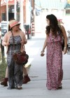 Vanessa and Stella Hudgens - Leggy Candids in Studio City-12