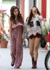 Vanessa and Stella Hudgens - Leggy Candids in Studio City-15