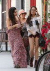 Vanessa and Stella Hudgens - Leggy Candids in Studio City-17