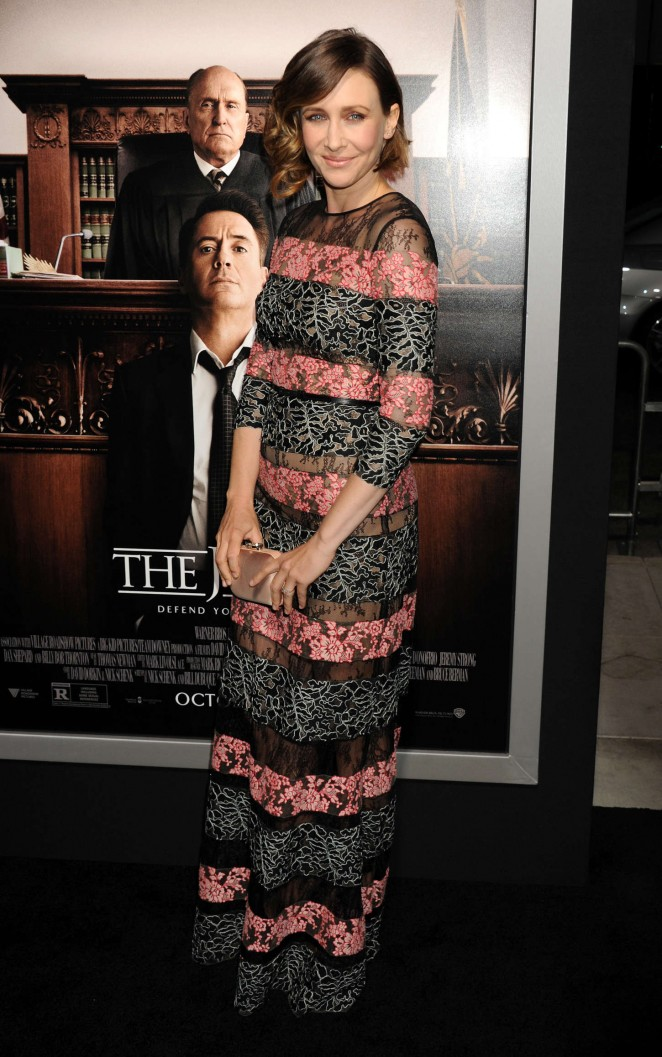 """Vera Farmiga - """"The Judge"""" Premiere in LA"""